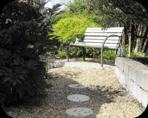 Feng Shui för trädgården.